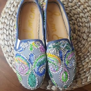 Sam Edelman Shoes - Sam Edelman Carrin Embroidered Platform Espadrille